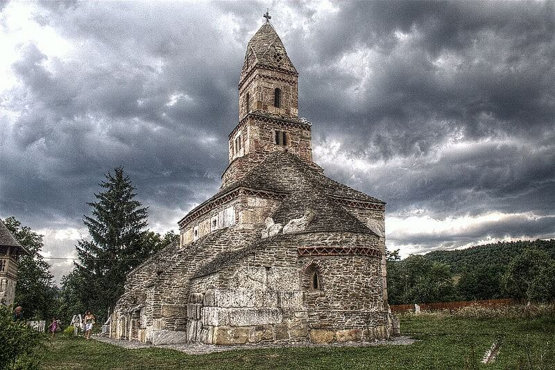 The Fortified Church from Densus